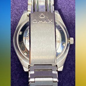 OMAX Accessories - Swiss Made OMAX Automatic Day Date Women Watch